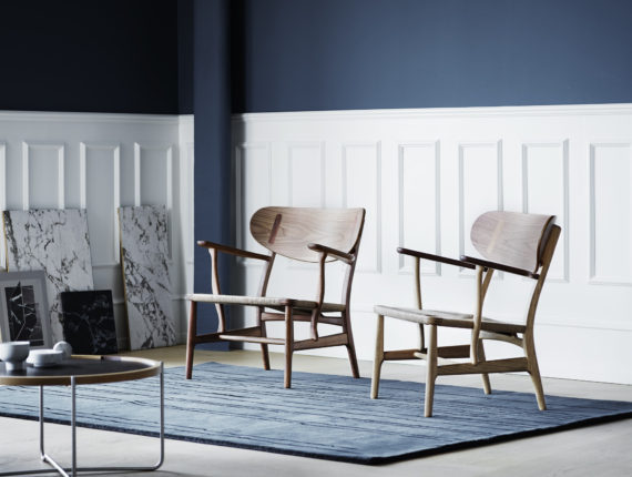 Carl Hansen CH22 lounge chair by Hans J. Wegner