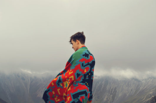 Zuzunaga Digital Sunrise throw
