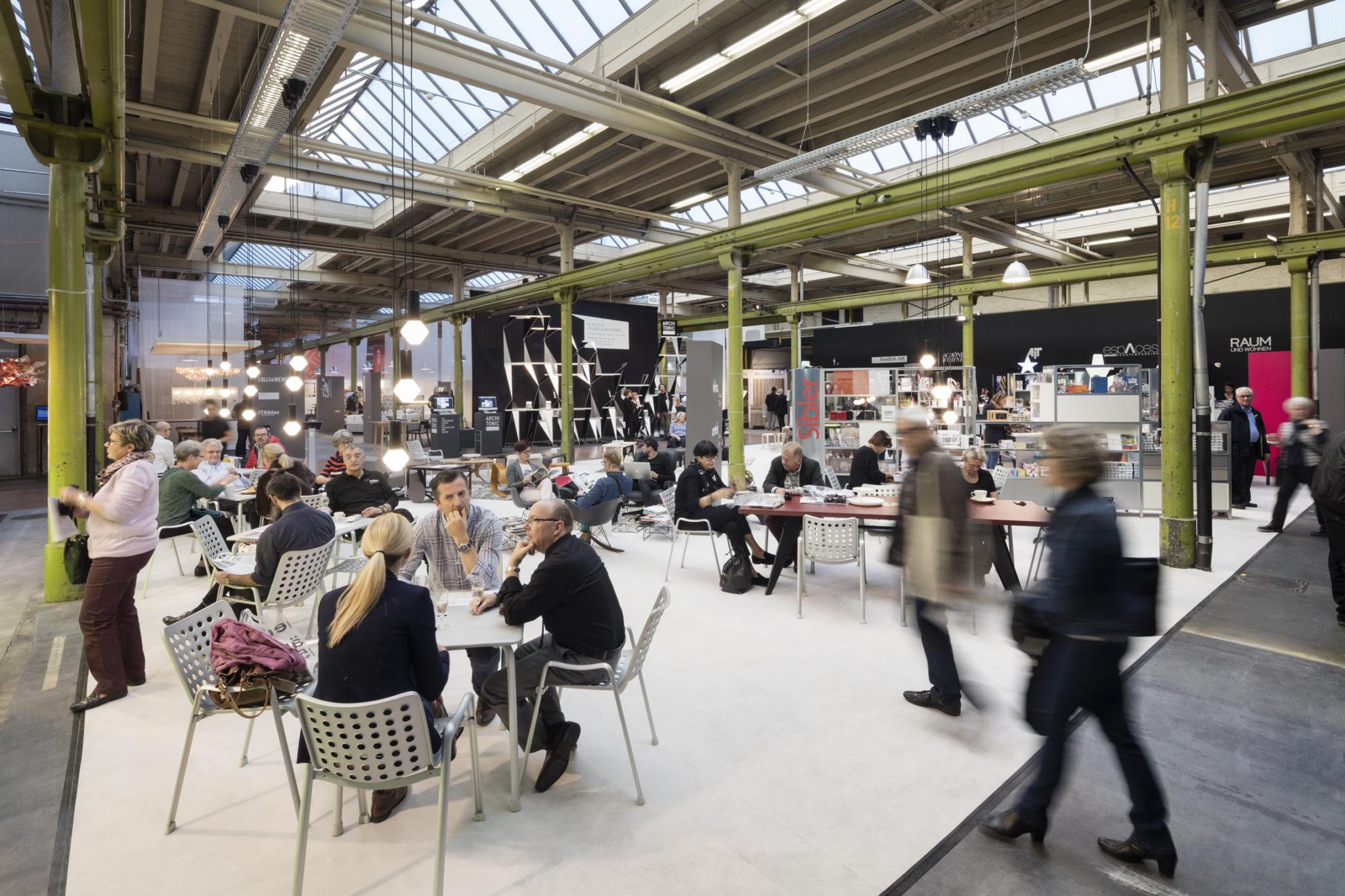 neue räume International Interior Design exhibition Zürich