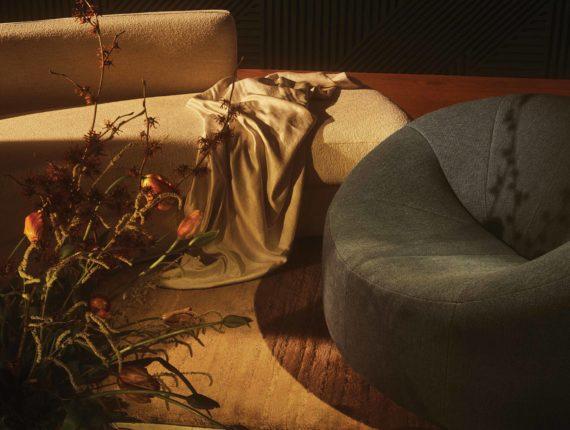 Sahco sofa Moss
