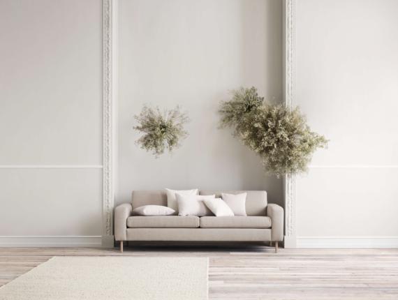 Bolia scandinavia sofa cushion rug